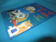 A COAT of CATS ~ Jeri Kroll & Ann James SIGNED  1st Hb    RARE!  in MELB