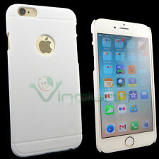 Custodia Nillkin Frosted Shield bianco pr iPhone 6 6S Plus 5.5 cover rigida case