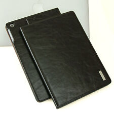 "Luxury Cover (f).Apple iPad 2017 9,7"" 5 Custodia protettiva Borsa In Cuoio nero"
