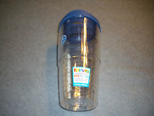 Tervis Tumbler, 24 oz with Travel Lid, Clear,  New, with Logo, Made in USA