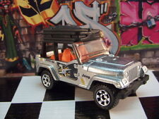 '14 MATCHBOX JEEP WRANGLER LOOSE 1:64 SCALE JUNGLE RECON SERIES