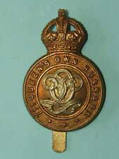 WW1 PERIOD 7TH HUSSARS CAP BADGE - 100% ORIGINAL GUARANTEED!!!!