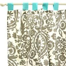 "New Arrivals Curtain Panels, WINK  in Grey (2 Count)White 54X 84""  plus ribbon"