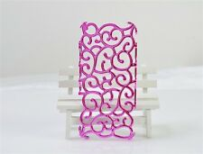 Swirling Vines iPhone 5 5S SE Case (Pink)