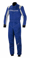 Alpinestars GP Start Suit FIA 2-Layer Rally Race Overalls Blue Size 54 EU54