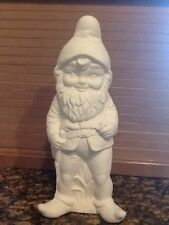 Ceramic Bisque Standing Gnome Large Albert Mold 545 U-Paint Ready To Paint