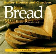 Best Bread Machine Recipes: For 1 12- and 2-pound  loaves (Better Home-ExLibrary