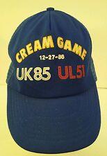 Vintage UK Wildcats vs U of L Cardinals Cream Game 12-27-86 Snapback Trucker Hat