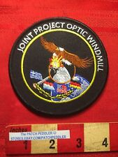 Military Patch JOINT PROJECT OPTIC WINDMILL USAF AIR FORCE USA DENMARK UK + 63H