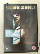 Michael Rile CUBE ZERO ~ 3 ~ Cult Sci-Fi Sequel | UK DVD