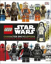 Lego Star Wars Character Encyclopedia Updated and Expanded NUEVO Rilegato Libro