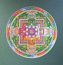 Enmarcado impresión: colorido mandala budista (imagen Religión Buda Budismo Art)