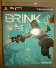 Brink (uncut) Playstation 3 PS3 Video-Spiel Bluray Disc Bethesda ZeniMax