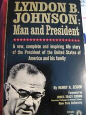 2 BOOKS-LYNDON JOHNSON: Man and President and THE STORY OF THE 2ND WORLD WAR