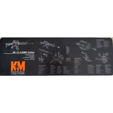 KM Tactical AR15 Bench Top Mat Diagram