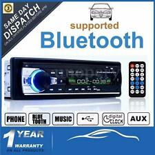 NUEVO Radio Coche Bluetooth In-Dash 12V SD/USB/AUX FM Estéreo MP3 Reproductor