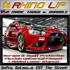Mitsubishi Lancer Ralliart Eclipse Front Rubber Chin Lip Splitter Spoiler Trim *