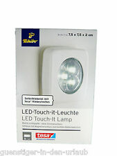 TCM Tchibo LED Touch IT Lampe selbstklebend mobile Leuchte ohne Strom