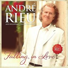 ANDRE RIEU FALLING IN LOVE CD & DVD - NEW RELEASE NOVEMBER 2016