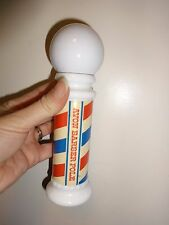 Vintage Avon Barber Pole Wild Country After Shave Empty Perfume Bottle (pb165)