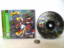 Crash Bandicoot Warped 3 Playstation 1 PS1 Greatest Hits Complete !!!