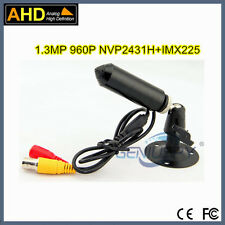 Low Lux 0.0001 Lux Color 1.3MP Pinhole Mini Bullet AHD Security Video Camera