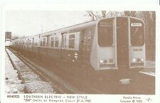 "Railway Postcard - Southern Electric - New Style ""508"" Units at Hampton  2745"