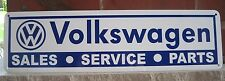 Volkswagen Parts Service Garage Sign VW Bus Bug Bettle Mechanic Shop Garage 7day