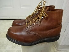 VINTAGE 80'S RED WING SUPER SOLE BOOTS 8.5 D GREAT COND NOT MUCH USED USA MADE
