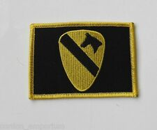 1ST CAVALRY US ARMY EMBROIDERED PATCH 2.5 X 3.5 INCHES