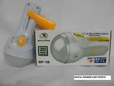 Royal power led ultra super rechargeable Torch RP-1B