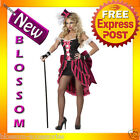 C493 Woman Eye Candy Pink Parisian Showgirl Vegas Burlesque Adult Costume Outfit