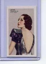 Gallaher 1938 Stars of Screen & Stage #46 Bebe Daniels NMMT Green Back