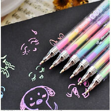 4pcs/lot diamond gel pen 6 colors 1 pen colorful pen Novelty Pen student pens SP