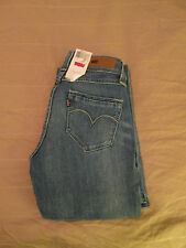 LEVI BOLD CURVE STRETCH FLARE JEANS MISSES SIZE 0 MEDIUM NWT