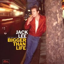 JACK LEE  (NERVES) -BIGGER THAN LIFE -ANTHOLOGY  Digipack CD