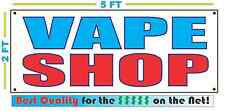 VAPE SHOP Banner Sign NEW Larger Size Best Quality for The $$$ SMOKE
