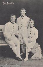 The 3 Leopoldis AK uralt Künstler Artisten Zirkus Varieté 1607147