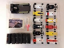 Racing Champions Set of 12 Indy Cars From Sears W/fuel Staion & Cards-1:64