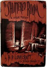 The Shuttered Room and Other Pieces by H.P. Lovecraft-Arkham House-First Edition