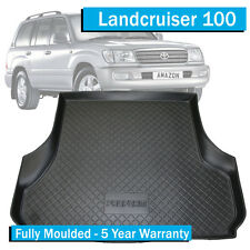Boot Liner for Toyota Landcruiser 100 Series (1998-2007) -Cargo Mat - No 3rd Row