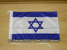 Fahnen Flagge Israel Bootsfahne Tischwimpel - 30 x 40 cm