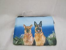 German Shepard Dog Dogs Photo Coin Purse with Rhinestones NEW