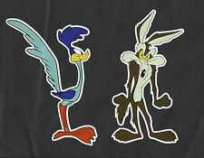 The ROAD RUNNER & WILE E COYOTE Sticker Decal TRUCK Car Cartoon Surfing Van Ute