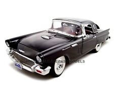 1957 FORD THUNDERBIRD BLACK 1:18 MODEL CAR BY ROAD SIGNATURE 92358