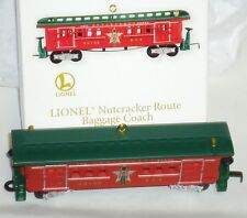 2012 HALLMARK Lionel Baggage Coach Nutcracker Route Train Car