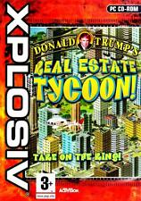 PC CD GAME - Donald Trump's Real Estate Tycoon - FREE UK POSTAGE