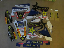 FLU  PTS  TEAM ROCKSTAR  GRAPHICS YAMAHA YZ125 YZ250 2006-2014  #71058