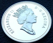 RARE CANADA 50 Fifty Cent PROOF 1994 Low Mintage 146,000, Gem of QEII, w HOLDER