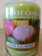 "Yankee Candle Rare USA "" EASTER EGG HUNT ""  Large Jar 22oz Collector's Edition"